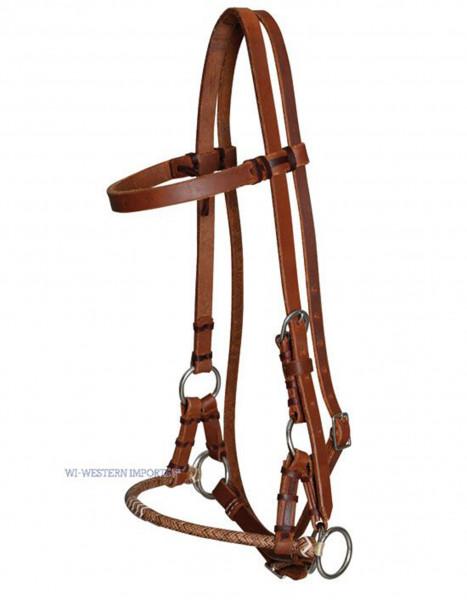 Sidepull Harness Leder