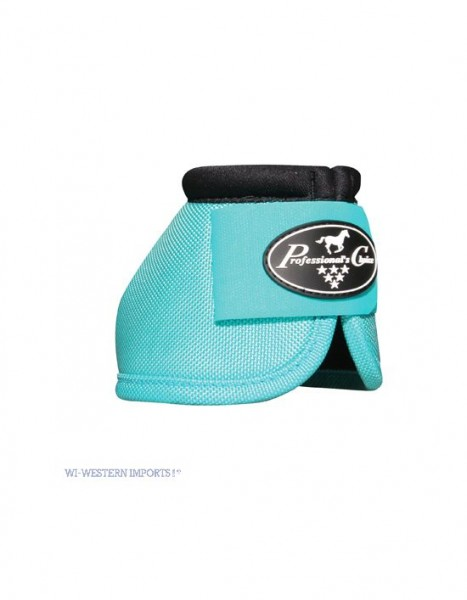 Professional's Choice | Secure Fit Overreach Bell Boots | TURQUOISE