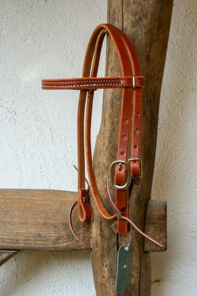 Pony Kopfstück Harnessleder