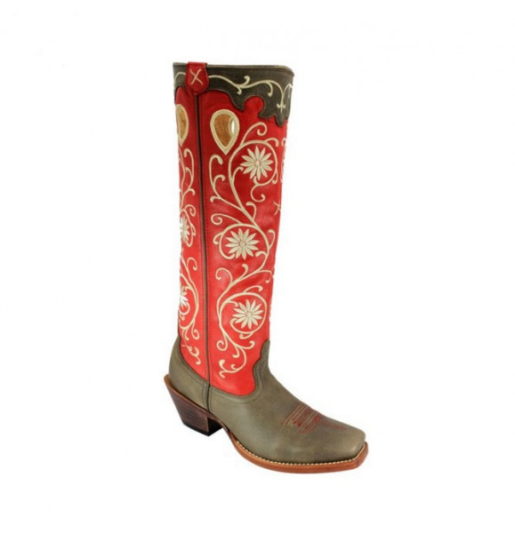 Twisted X Women's Buckroo red
