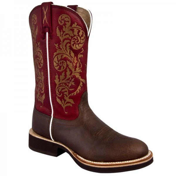 Cowboystiefel Twisted X Women's Horseman Red