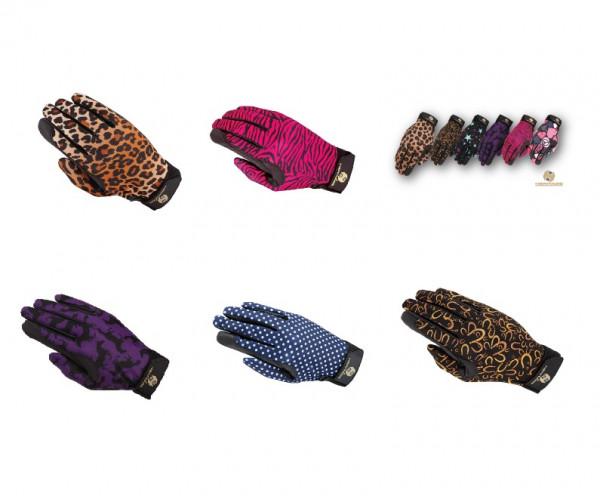 Handschuhe in tollen Designs als Reithandschuhe geeignet