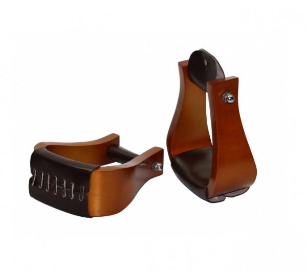 Hardwood Bell Steigbügel