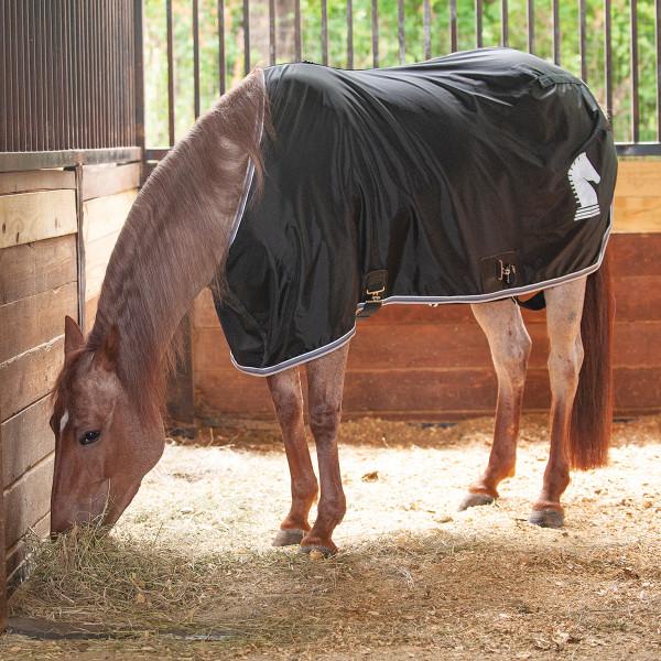 Nylon Sheet Classic Equine Brustbereich geschlossen