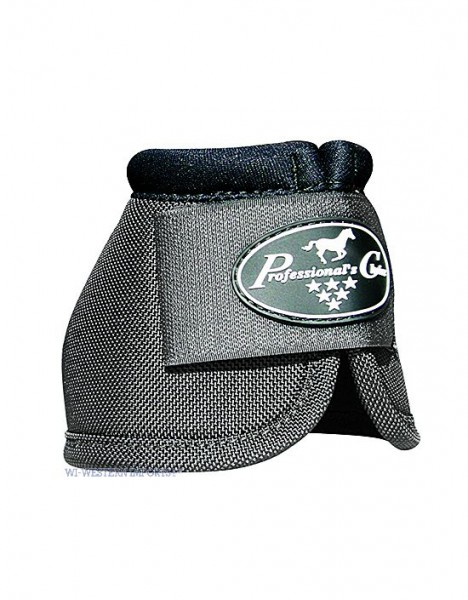 Professional's Choice | Secure Fit Overreach Bell Boots | CHARCOAL