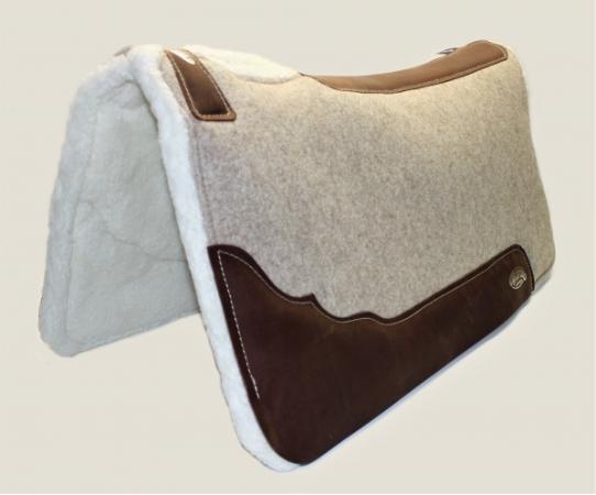 "WEAVER | Contoured Wool Blend Felt Pad Merino 32"" x 32"""