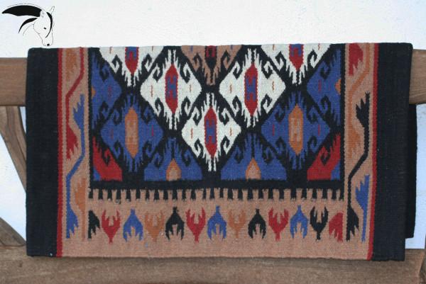 Sattel Blanket tolles Muster