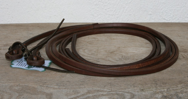 Zügel aus Herman Oak Leder dunkel geölt schweren Enden