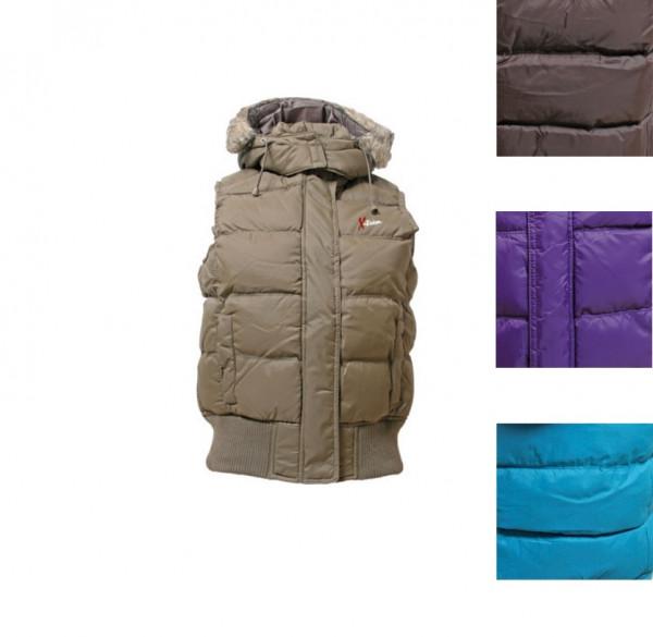 Jacke gesteppt in drei Farbvarianten