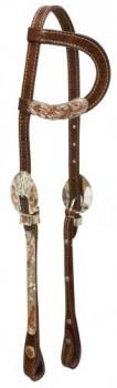 Einohr Kopfstück G.Sllver zweifarbig
